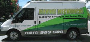 mobile land rover service