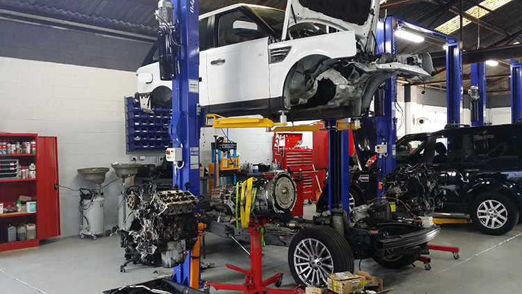 Image result for range rover workshop